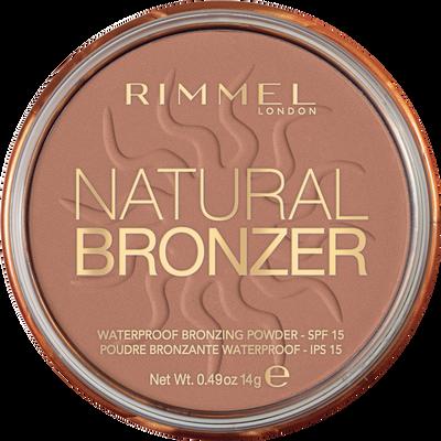 Poudre natural bronzer 022 RIMMEL, 14gr