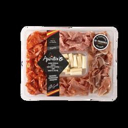 Chiffonnade Giganta (serrano, chorizo, saucisson, lomo, Queso de la mesa), 280g