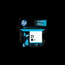 Cartouche d'encre HP pour imprimante, C9351AE noir n°21, sous blister