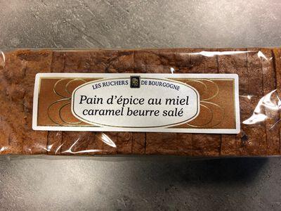PAIN EPICE Miel et CARAMEL Beurre Salé 300g