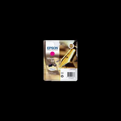 Cartouche d'encre EPSON, T1623, magenta, Stylo Plume, sous blister