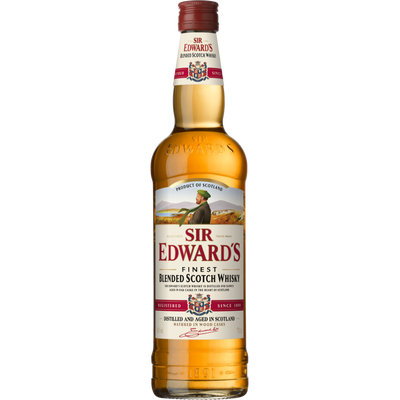 Scotch whisky SIR EDWARD'S, 40°, bouteille de 70cl
