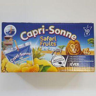 Boisson Rafraîchissante a l'eau CAPRI-SONNE SAFARI X 10 ,2l