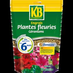 Engrais osmocote pour plantes fleuries et géraniums KB, 650g