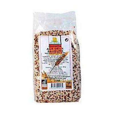 Quinoa aux 2 saveurs bio MOULIN DES MOINES, 500g