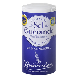 Sel moulu de tradition LE GUERANDAIS, boîte verseuse de 125g