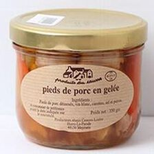 Pieds de porc en gelée, Produits du causse, 350g