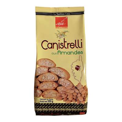 Canistrelli aux amandes (luxe) Biscuiterie d'Afa, 350g