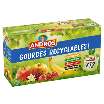 Andros Gourdes Panaché Andros 12x90g
