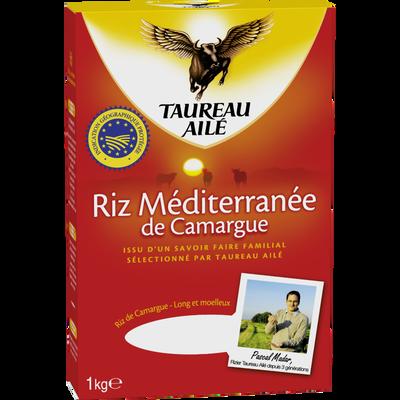 Riz long IGP méditerranée TAUREAU AILE, étui de 1kg