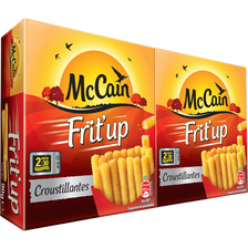 Mc Cain Club Frit'up Frites Micro Ondes , 2x90g Soit 180g