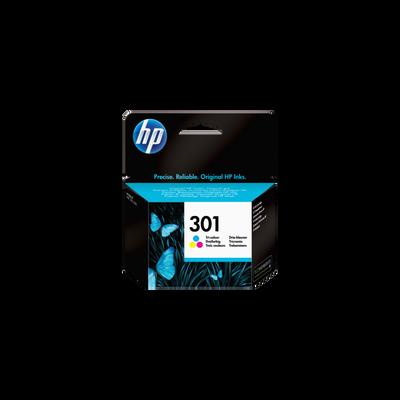Cartouche d'encre HP pour imprimante, CH562EE couleur n°301, sous blister