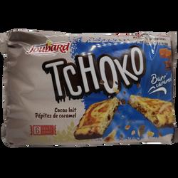 Tchoko barr'cacao lait aux pépites de caramel BISCUITERIE JOUBARD, 210g
