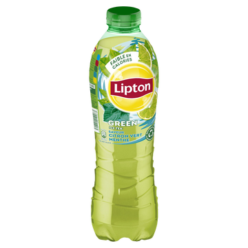Lipton Boisson Lipton Ice Tea Goût Citron Vert Menthe - Bouteille 1l