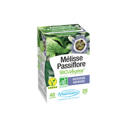 Gamme vegetale - melisse passiflore bio végétal