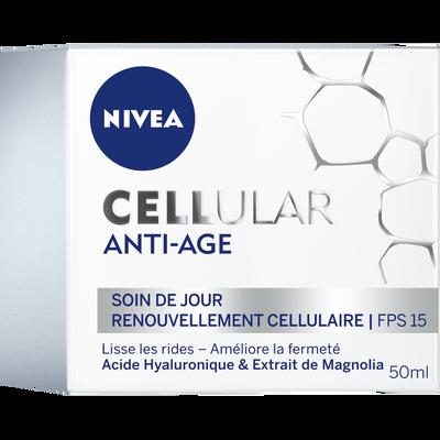 Soin anti-âge de jour Cellular NIVEA, pot de 50ml
