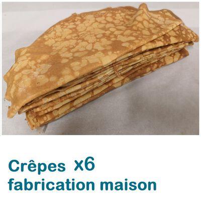 CREPES FAIT MAISON X6