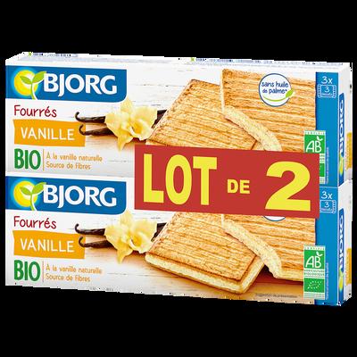 Fourrés à la vanille Bio BJORG, 2x225g
