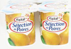 Yaourts Sélection de Poires, YOPLAIT, 4x125g