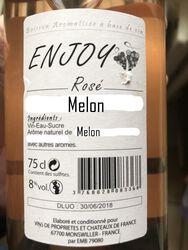 ENJOY ROSE MELON 8° BOISSON AR