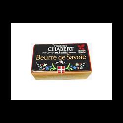 Beurre de savoie Fruitières CHABERT, 82%MG, 250g