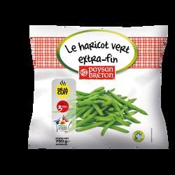 Le haricot vert extra-fin cuit PAYSAN BRETON, sachet de 750g