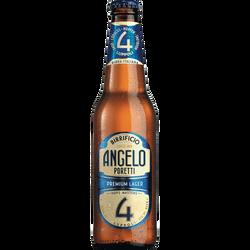 Bière Poretti 4 LUPPOLI, 5,5°, bouteille de 33cl