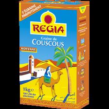 Graines de couscous moyenne REGIA, 1kg