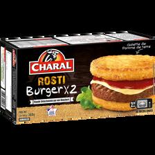 Charal Le Rosti Burger , 2x180g