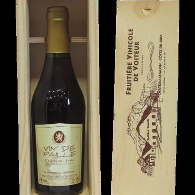 Vin de paille FRUITIERE VINICOLE DE VOITEUR, coffret bois 1 bouteille de 0.375l