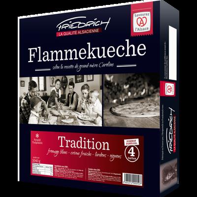 Tartes flambées tradition Friedrich x4