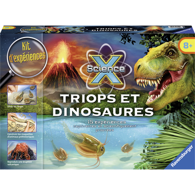 Triops & Dinosaures RAVENSBURGER, nouvelle version