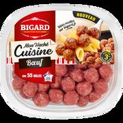 Bigard Mon Haché Cuisine Boulettes De Boeuf Nature, Bigard, France, Barquette280g