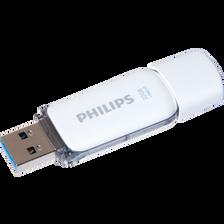 Clé USB 2.0 PHILIPS, snow, 32Go