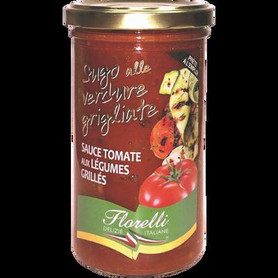 Sauce tomate aux légumes grillés FLORELLI,250g