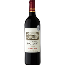 Vin rouge AOP Côtes de Bourg CHATEAU DU BOUSQUET, 75cl