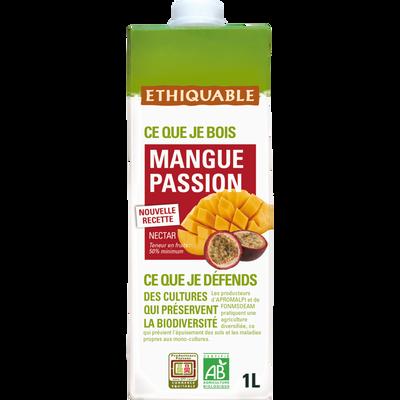 Nectar à la mangue passionn Bio ETHIQUABLE, 1L
