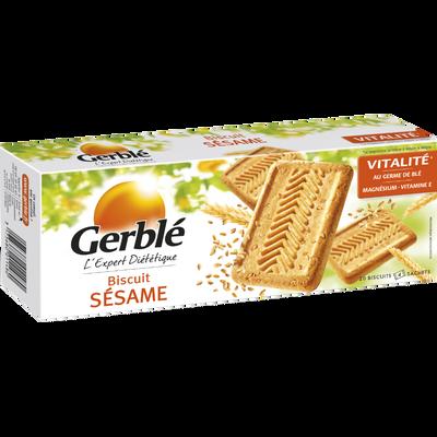 Biscuits au sésame GERBLE, paquet de 230g