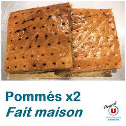 POMMÉS X2