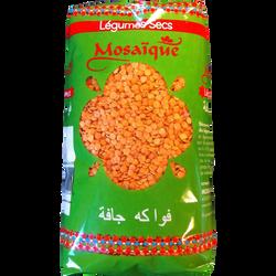 Lentilles corail MOSAIQUE, paquet de 1kg