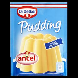 Préparation pour Pudding parfum vanille DR OETKER, 3 sachets, 111g