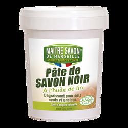 Pâte de savon noir formulation Ecocert MAITRE SAVON DE MARSEILLE, 1kg