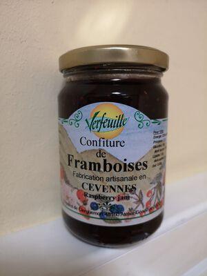 VERFEUILLE CONFITURE DE FRAMBOISES 360G