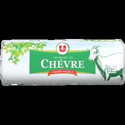 Fromage au lait pasteurisé Bûche de chèvre Ste Maure U, 25%mg, 200g