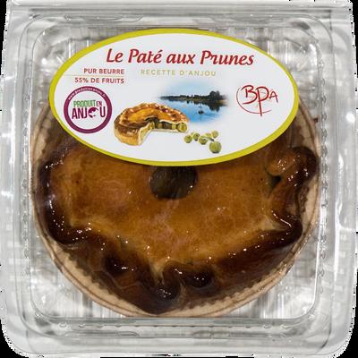 Pâté aux prunes individuel, BPA, 1 pièce, 150g