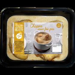 Chapon sauce foie gras pour 4 personnes AGIS 800g