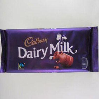 Dairy milk barre chocolat CADBURY,200g