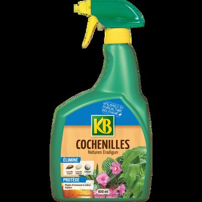COCHENILLES BIO KB 800ML-ELIMINE TOUT TYPE DE COCHENILLES- S'UTILISE SUR CONIFERE,ARBRE,PLANTES,ARBRES FRUITIER-NATURENERADIGUN