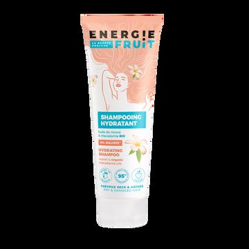 Energie Fruit Shampoing Pour Cheveux Abîmés Parfum Monoï Et Huile De Macadamia Energie Fruit, Flacon De 250ml
