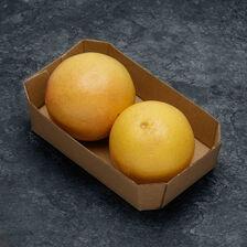 Pomelos rouge, BIO, calibre 4/5, Afrique du Sud, barquette 2 fruits
